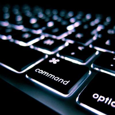computer toetsenbord close